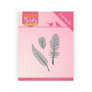 Rezalna šablona, Happy Birds, Trio of Feathers