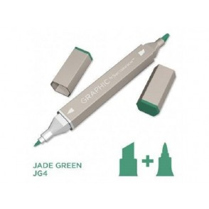 Marker Graphic, Jade green
