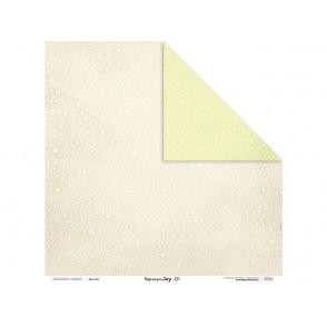 Papir, Beige and green JOY 01