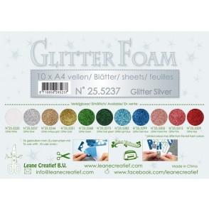 Glitter Foam, bleščeča pena, srebrna