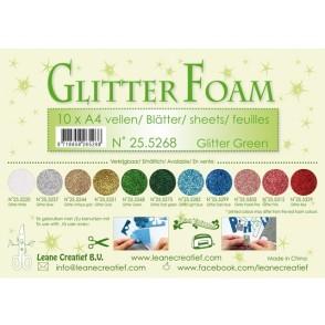 Glitter Foam, bleščeča pena, zelena