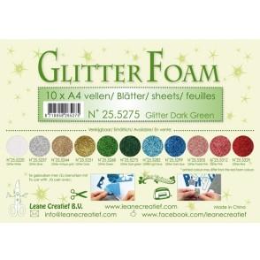 Glitter Foam, bleščeča pena, zelena temno