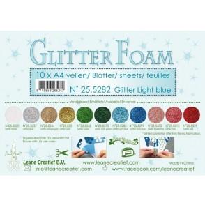 Glitter Foam, bleščeča pena, modra svetlo