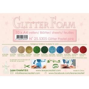 Glitter Foam, bleščeča pena, roza pastel