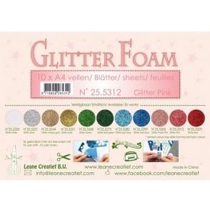 Glitter Foam, bleščeča pena, roza