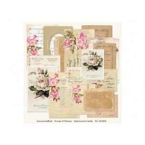 Dekorativne kartice, House of Roses, set