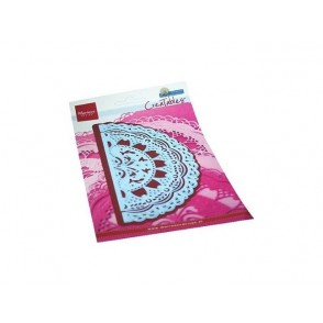 Rezalna šablona, Creatables, Petra's Gate folding floral