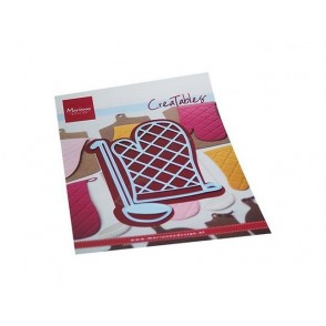 Rezalna šablona, Creatables, Oven mitt & spoon