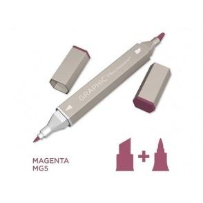 Marker Graphic, Magenta