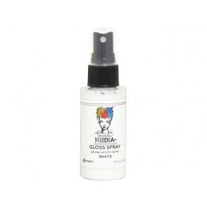 Media Gloss Sprays, White