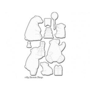Rezalna šablona, Birthday Bears