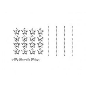 Rezalna šablona, Stitched Star grid