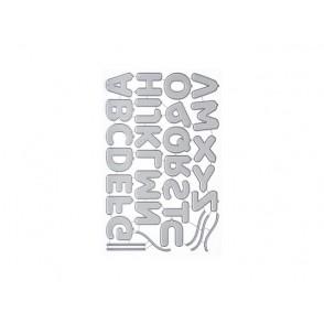 Rezalna šablona, Pumped-Up Alphabet