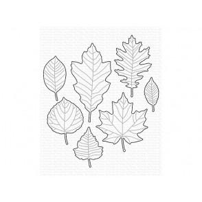 Rezalna šablona, Falling Leaves