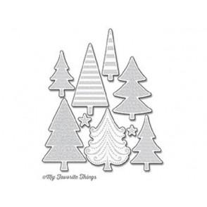 Rezalna šablona, Oh, Christmas Trees