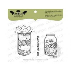 Štampiljka, Florarium in a jar