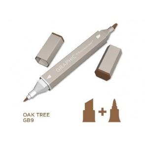 Marker Graphic, Oak tree