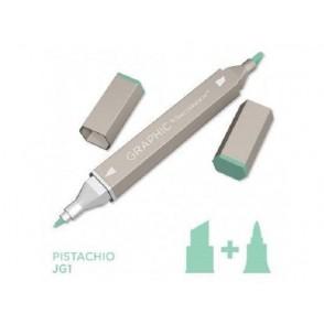 Marker Graphic, Pistachio