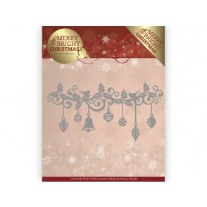 Rezalna šablona, Merry and Bright Christmas, Christmas Garland