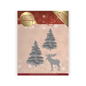 Rezalna šablona, Merry and Bright Christmas, Forest