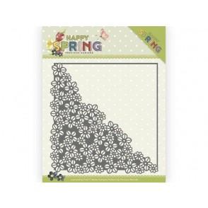 Rezalna šablona, Happy Spring, Happy Flower Corner