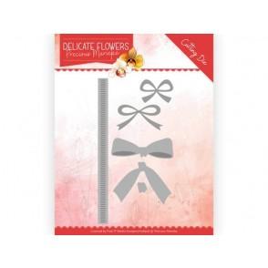 Rezalna šablona, Delicate Flowers, Delicate Bow