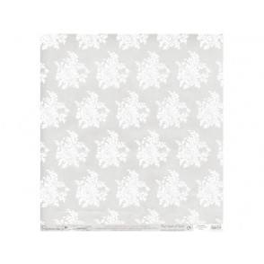 Papir, paus, z vzorcem iz bleščic, Isabella