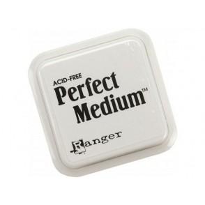 Prozorna blazinica za prah in bleščice Perfect clear medium