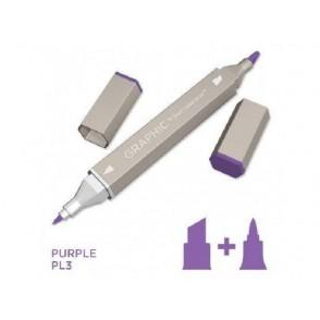 Marker Graphic, Purple