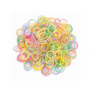 Elastike za izdelavo zapestnic, Bracelet Loops, neon mix