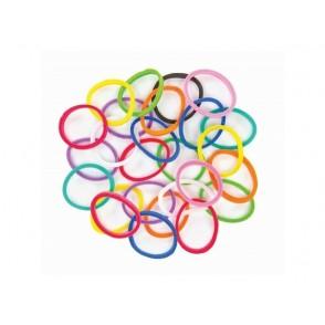 Elastike za izdelavo zapestnic, Bracelet Loops, mix barv