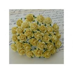 Odprte vrtnice, rumene