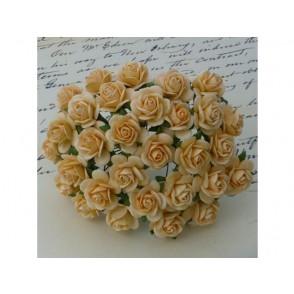 Odprte vrtnice, jesensko zlata