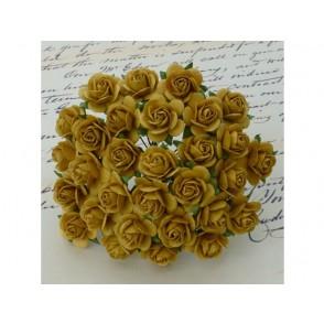 Odprte vrtnice, starinsko zlata