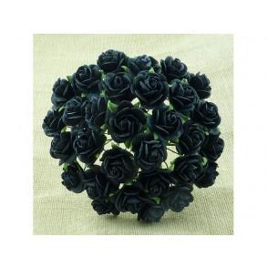 Odprte vrtnice, črne