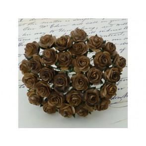 Odprte vrtnice, čokoladno rjava