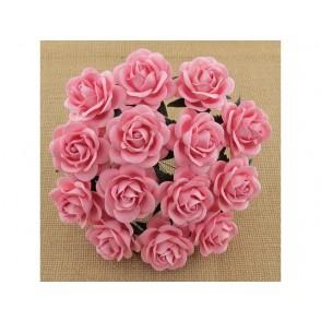 Odprte vrtnice, baby roza