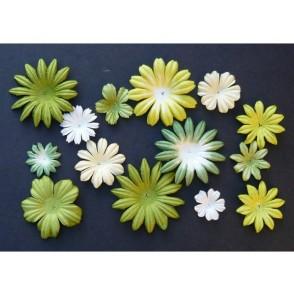 Cvetovi, mix zelena