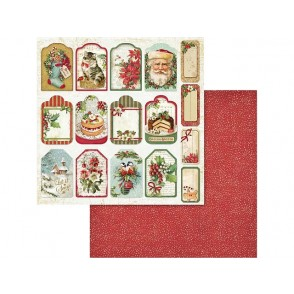 Papir, Christmas Vintage Tags & Labels