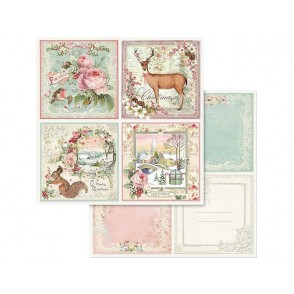 Papir, Pink Christmas Cards