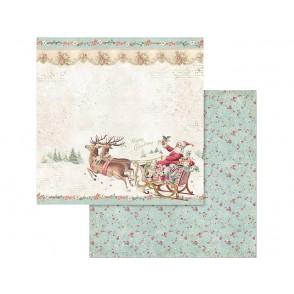Papir, Pink Christmas Santa Claus