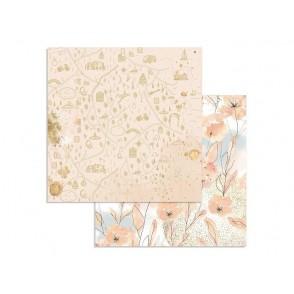Papir, Love Story, Watercolor Flowers