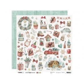Papir, Christmas Ultimate Scrap nr. 111