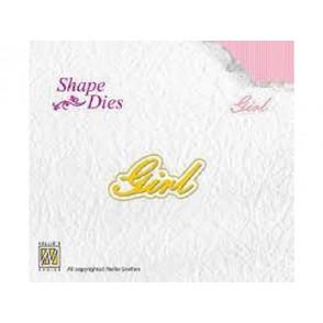 Rezalna šablona, Shape - Girl