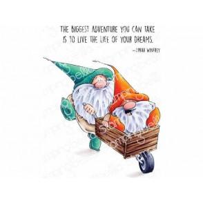 Štampiljka, Adventure Gnomes