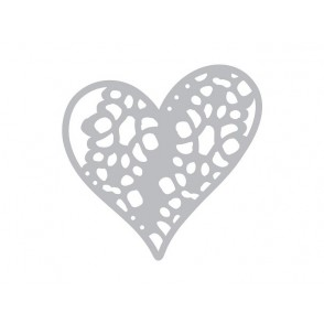 Rezalna šablona, Doily, Laced with love