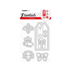 Rezalna šablona, Christmas Label