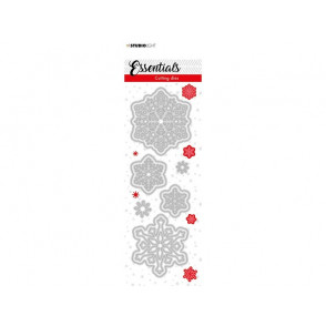 Rezalna šablona, Christmas Small Snowflakes