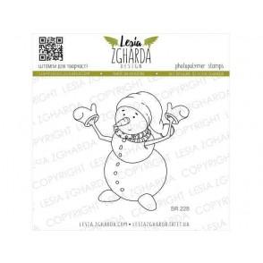 Štampiljka, Funny snowman