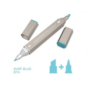 Marker Graphic, Surf blue